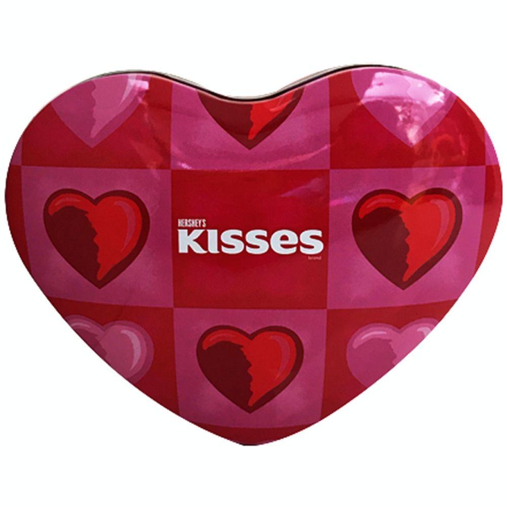 KISSES HERSHEY´S LATA CORAZÓN