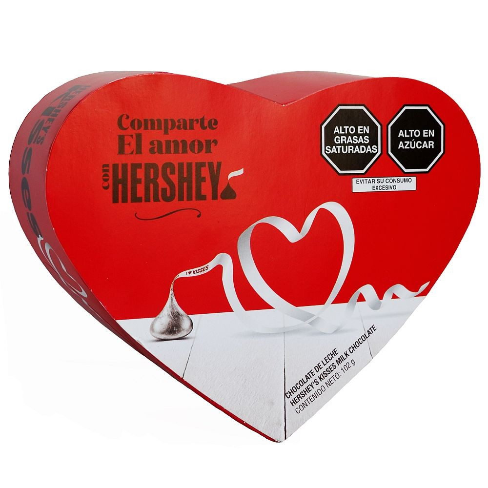 CHOCOLATES KISSES HERSHEY´S CORAZON