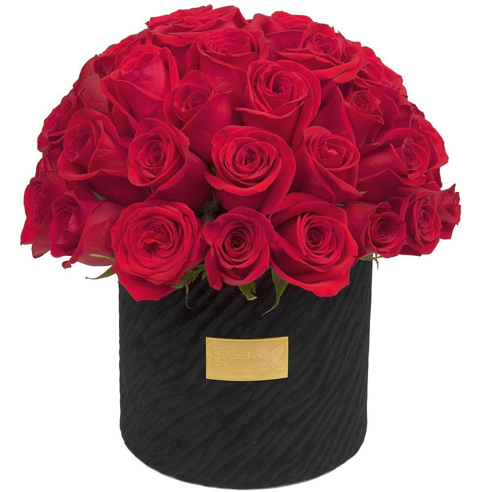 Glam Black 36 Rosas