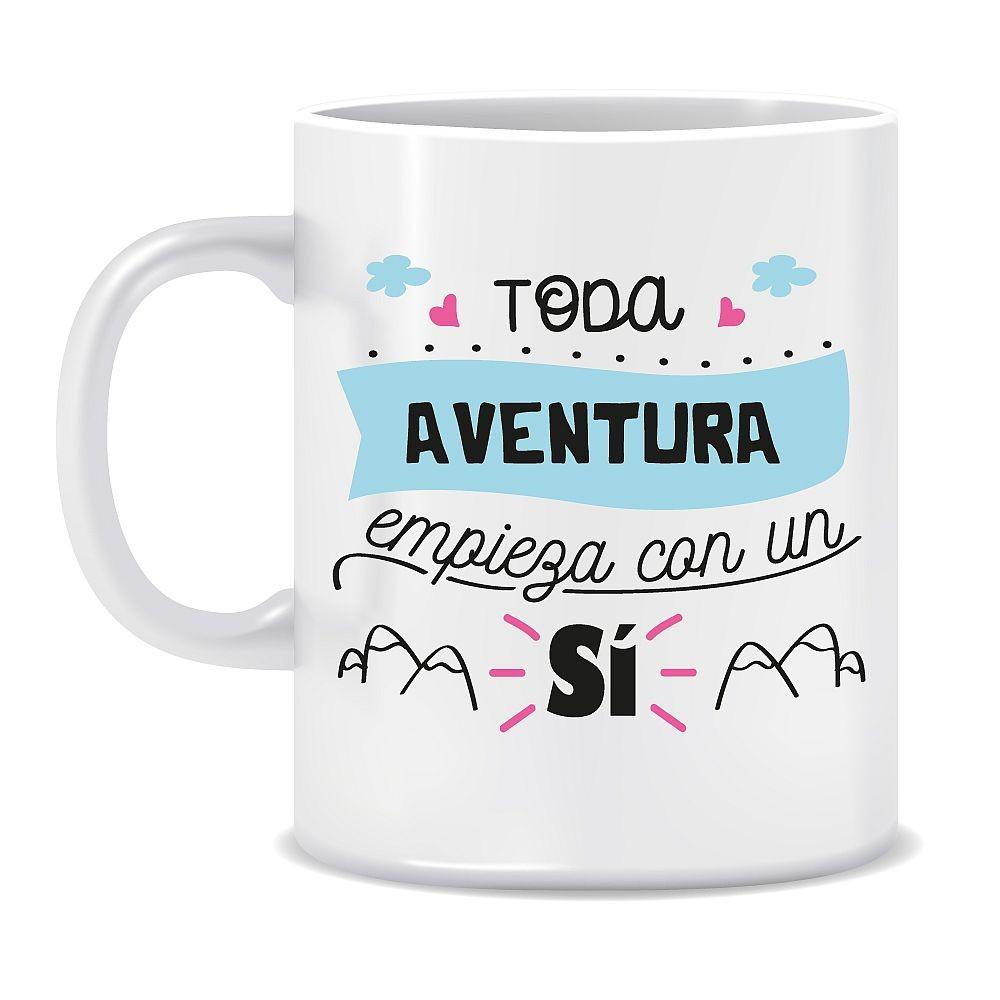 """TAZA """"TODA AVENTURA..."""""""