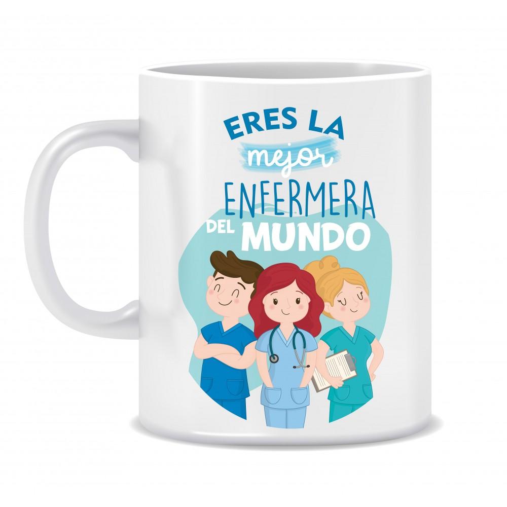 "TAZA ""LA MEJOR ENFERMERA"""