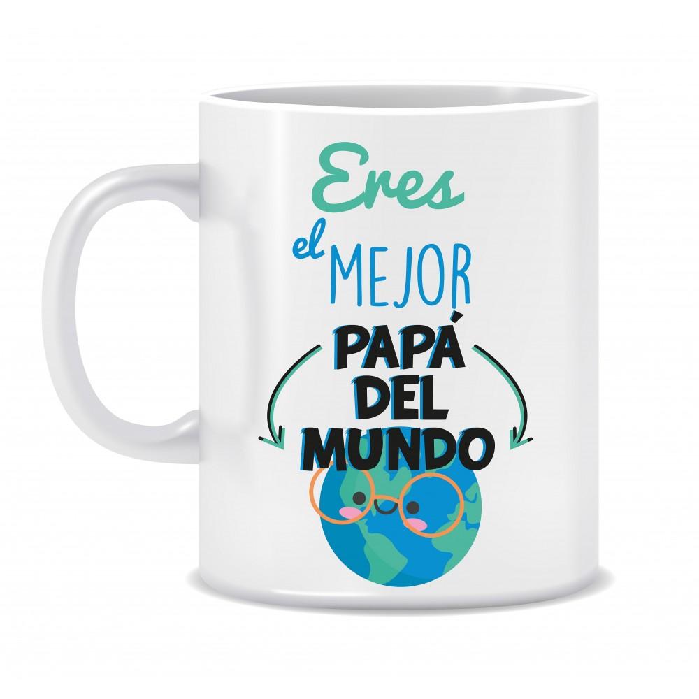 """TAZA """"EL MEJOR PAPÁ DEL MUNDO"""""""