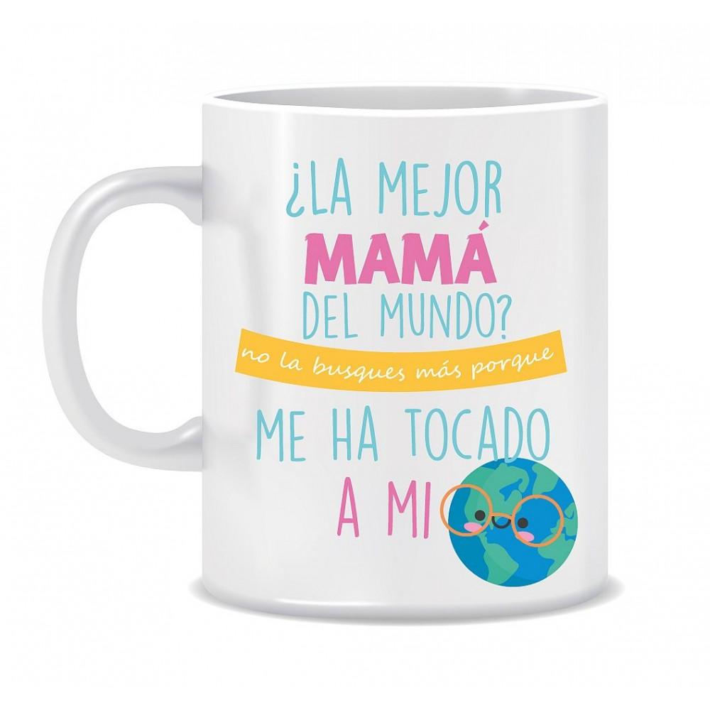 """TAZA """"LA MEJOR MAMÁ"""""""
