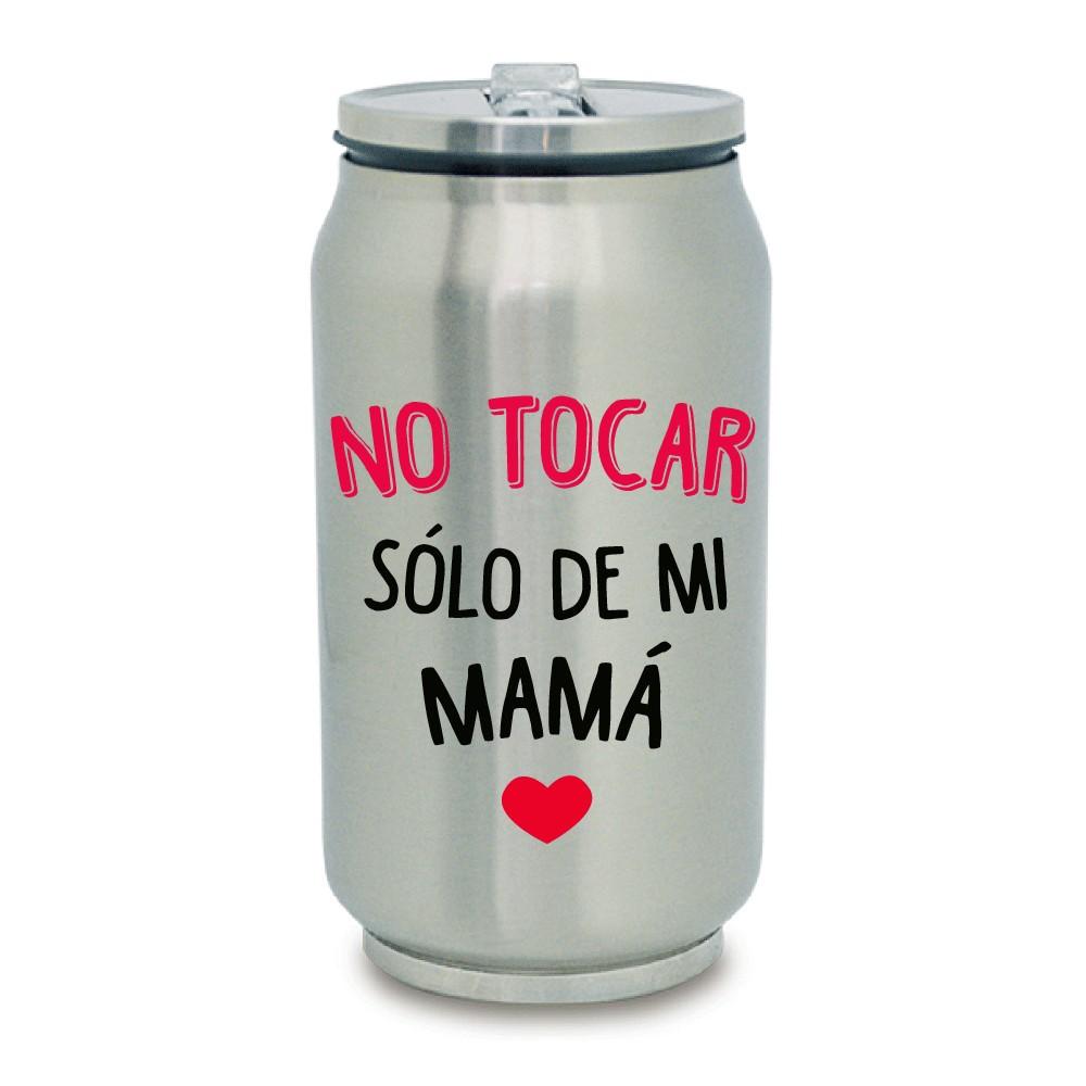 """TERMO LATA """"SOLO DE MAMÁ"""""""